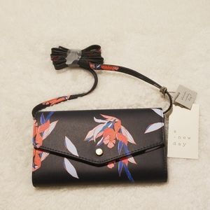 a.new day floral Crossbody and wallet